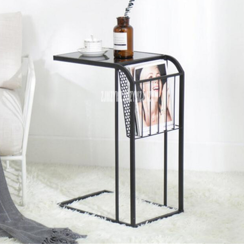 New Creative Nordic Mini Coffee Table High-quality Modern Minimalist Home Bedroom Small Table Iron Art Bedside Table Hot Selling