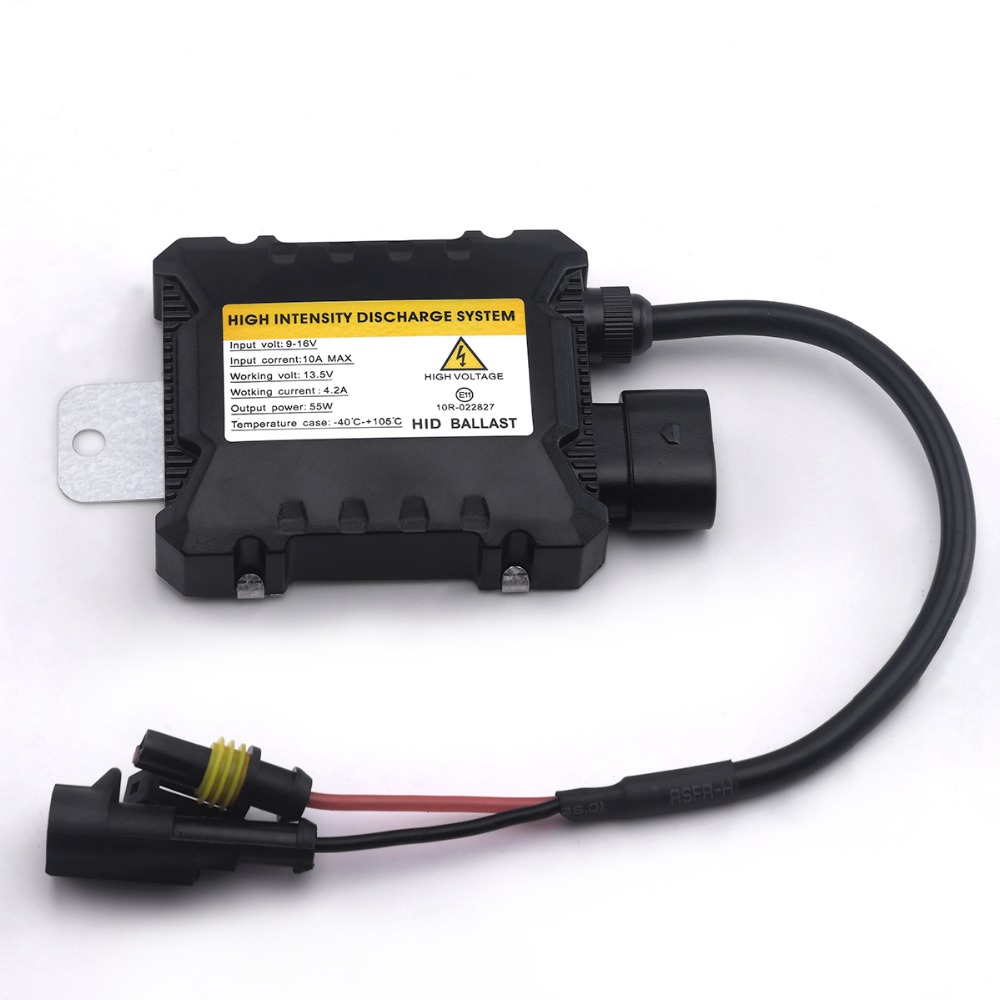 Slim Digital xenon HID ballast 55W Replacement xenon ballast 55w Electronic ballast D2S H1 H3 H4 H7 H11 9005 9006 H13 best promotion ac digital 35w slim for hid xenon replacement ballast universal h7 h1 h3 h11