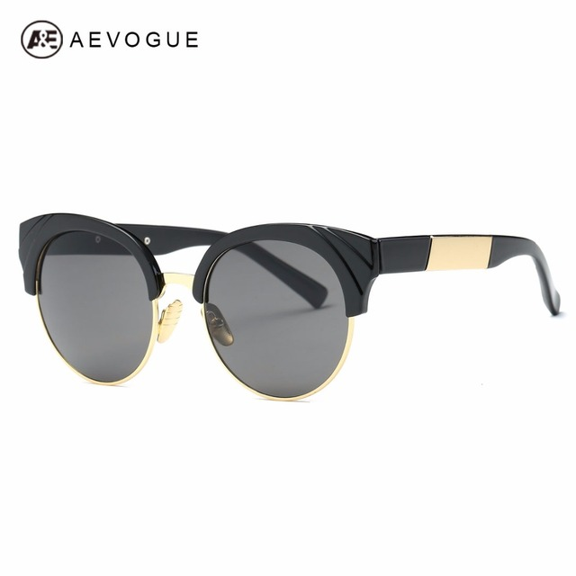 47144ec73460 AEVOGUE Sunglasses Womens Cat Eye Frame Newest Oversize Vintage Brand  Designer Sun Glasses With Box AE0506