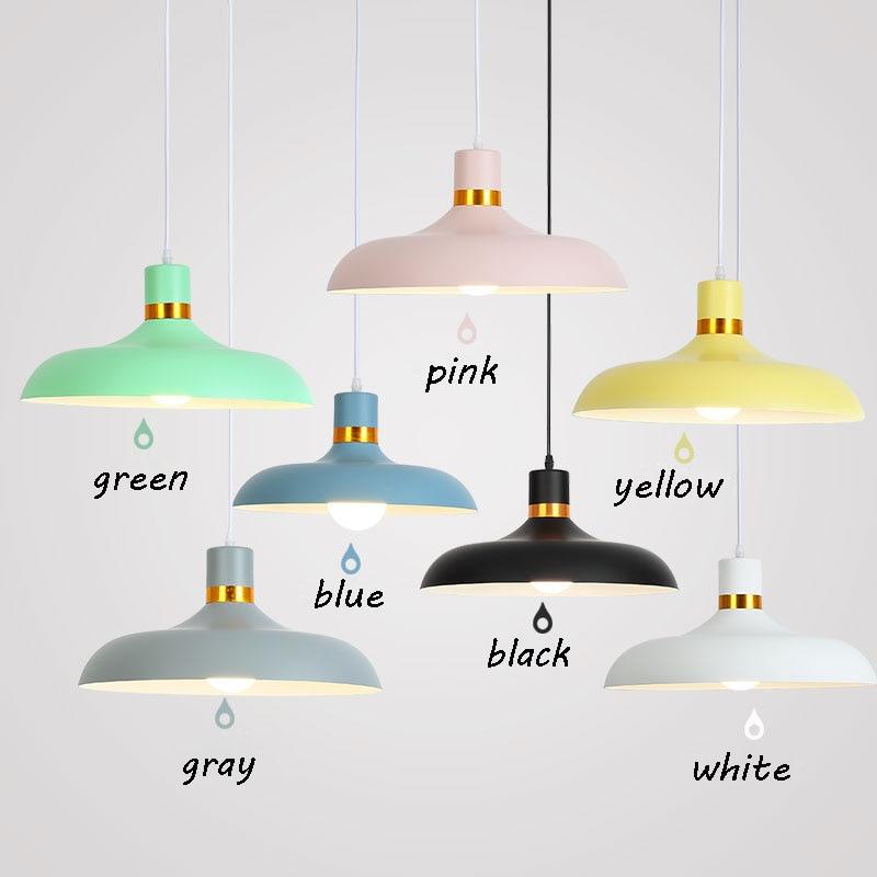 Modern Pendant Light Aluminium Hanging Pot Pendant Lamp Restaurant Dining Room Drop Pendant Light Home Lighting (12)