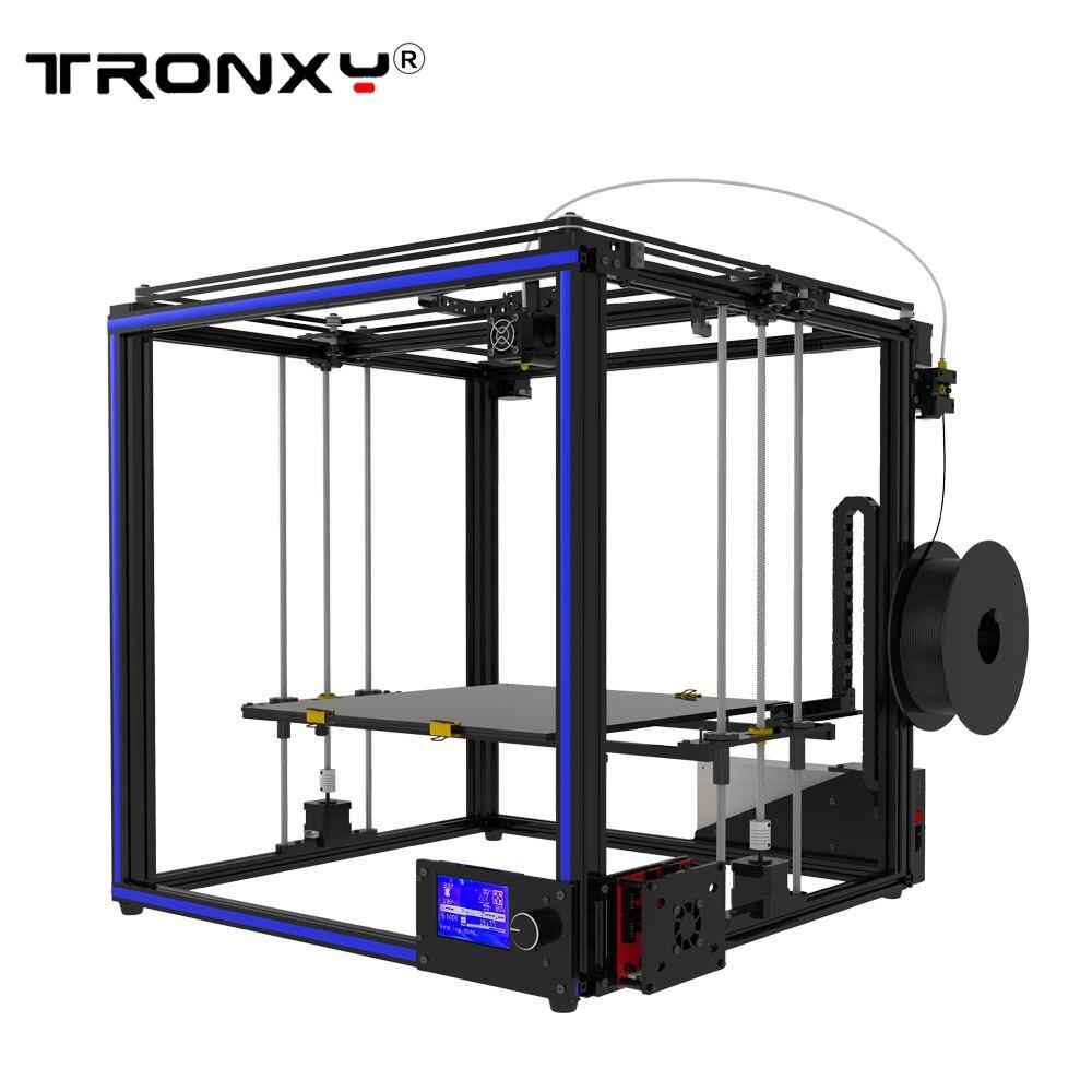 DIY kit assemble TRONXY X5S-400 3D printer High precision print Big size Max Print area 400x400x400mm DIY kit assemble поло print bar max payne
