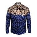 Новый Летний моды рубашку с Длинными рукавами Мужчины/Женщины Творческий солнце Медузы Печати 3D Бизнес торжественная одежда рубашка Harajuku тонкий одежда