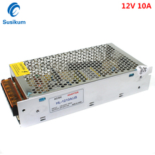 цена на 12V 120W 10A DC Power Supply Switching Led Driver AC DC Adapter For LED Strip 110V ~ 220V led Transformer
