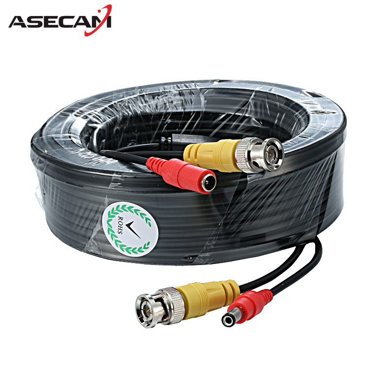 High quality BNC Video Cable Security font b CCTV b font Camera DC Power Copper core
