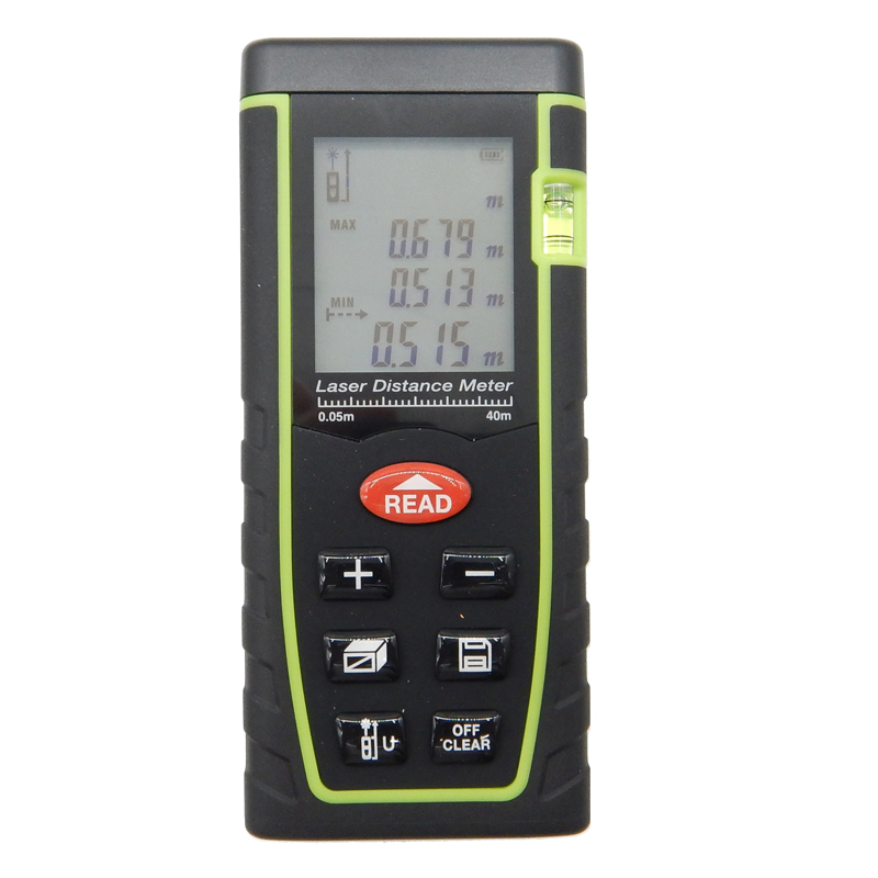 Sndway 40m laser distance meter laser rangefinder SW-T40 accuracy 2mm Maximum measuring distance 40m With color box  цены