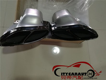 CITYCAR exhaust pipes tail tips AMG 2015 2016 2017 W205 C180/C200/C250/C300/C450 AMG pipes Exhaust Tips/Tail Tips AMG Rear Lip