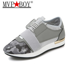 MVP BOY Spring Autumn new retro trend canvas Mesh womens shoes lace sequined hot models breathable casual singles