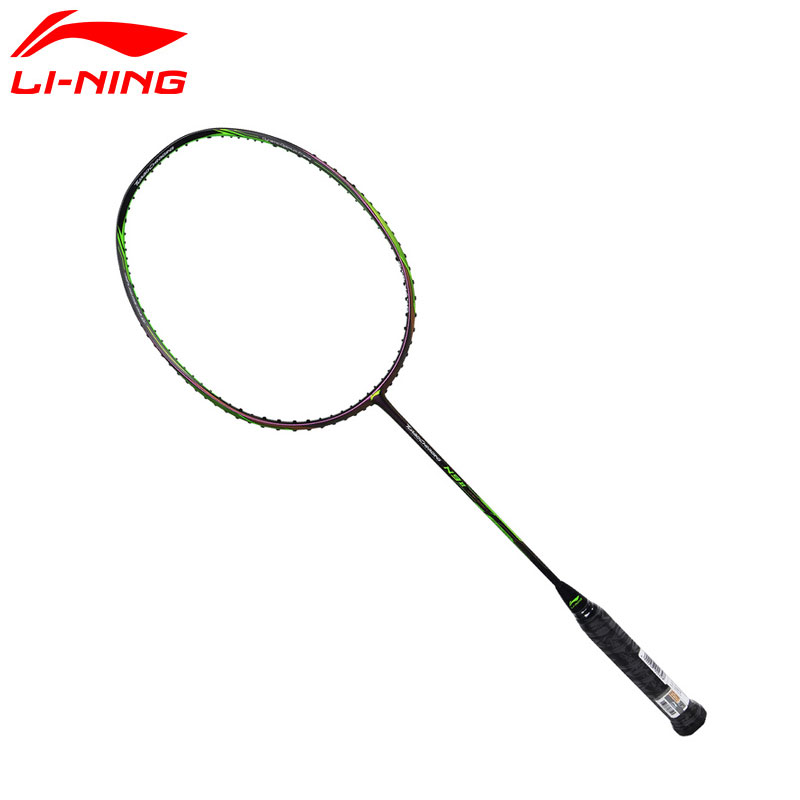 Li-Ning Turbo Charging 75D Professional Badminton Rackets Offensive Type Carbon Fiber LiNing Rackets AYPM026(AYPM424) ZYF186 li ning professional badminton rackets carbon offensive type brazil 2016 single racket aypl102 zyf113