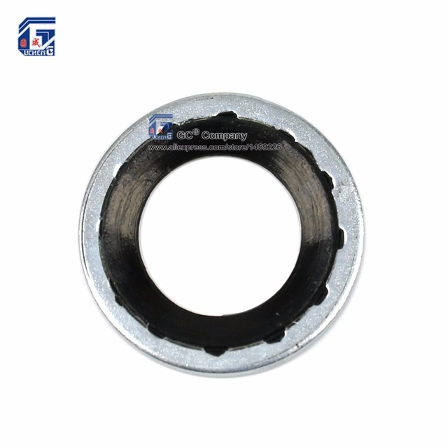 19.1 x 11.1 x 1.3 mm) Compressor Seal Washer Gasket for GM (General ...