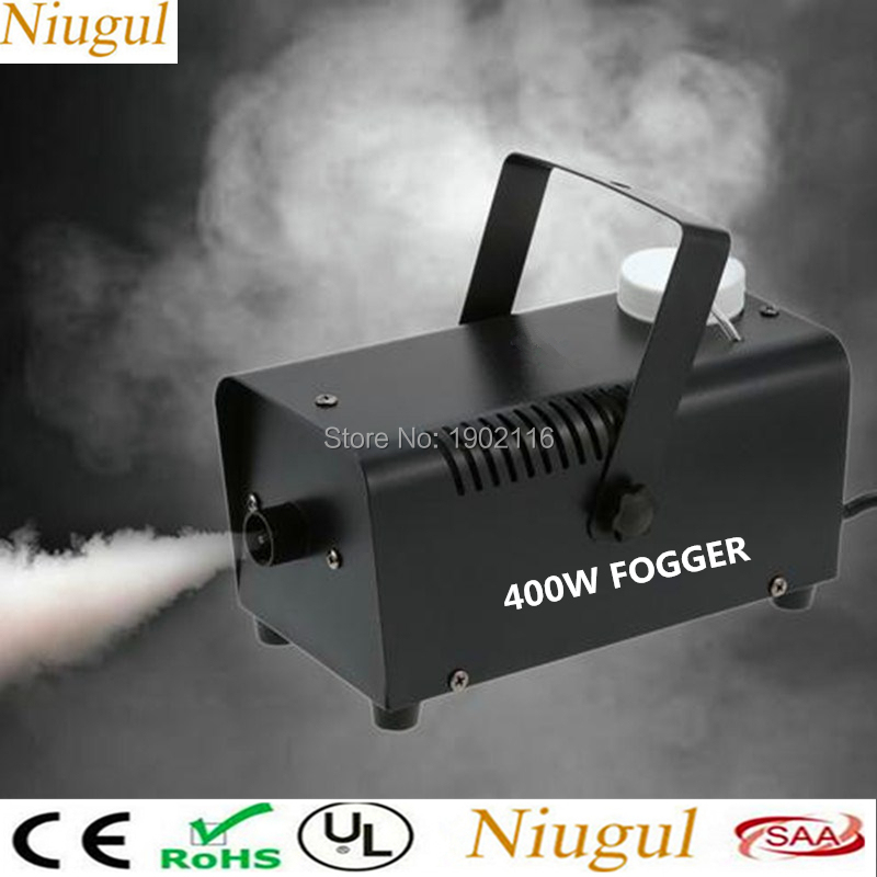 Mini LED RGB Wireless Remote Control 500W Fog Smoke/Wire Control 400W Fogger/Mist Machine Stage Effect Disco DJ Party Christmas niugul 1500w fog machine smoke machine stage mist effect 110v 240v remote wire control for disco dj party spray up fogger maker