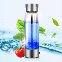 Portable Hydrogen Generator Ionizer For Pure H2 Rich Hydrogen Water Bottle Electrolysis Hidrogen 350ML Drink Hydrogen