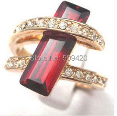 XFS20141er>>ร้อน!สวยใหม่เลดี้ทับทิมแหวนขนาด: 7 8 9 G102