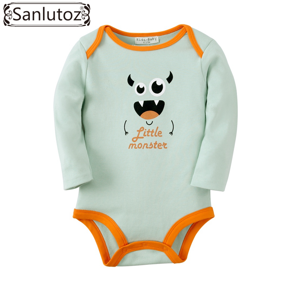 Sanlutoz Newborn Baby Clothes Infant Baby Clothing Boys Girls Winter Baby Rompers Cute Birthday Wear winter newborn baby girls clothing boys rompers cartoon infant clothes down snowsuit babies jumpsuits christmas clothing 2016