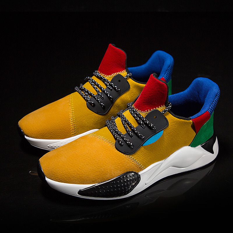 Men Breathable Autumn Lightweight Sneakers  1