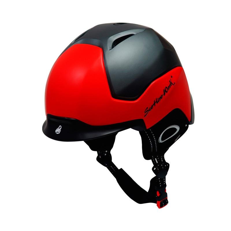 Casque de ski simple et double planche casque de ski tout-terrain vélo sport casque moto casquette de protection sport équipement de protection