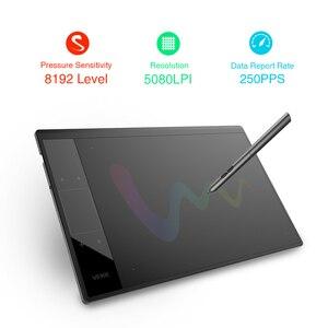 Image 3 - Tablet de desenho veikk a30, tablet gráfico de desenho com 10x6 polegadas, grande área ativa, tablet gráfico para ensino e aprendizagem on line com 8192