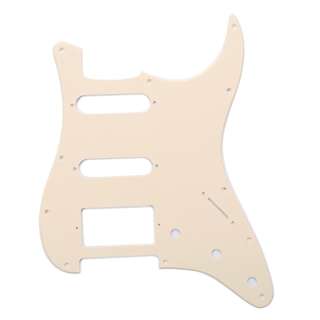 US $9 26 |Musiclily HSS 11 Hole Guitar Strat Pickguard for Fender  USA/Mexican Made Standard Stratocaster Modern Style-in Guitar Parts &  Accessories