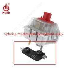 החלפה חמה שקע מכאני מקלדת מתגי Kailh PCB DIY בסיס שינוי עבור החלפת מתגי מקלדת בקלות