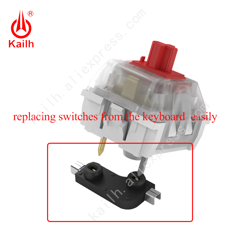 Hot Swap Mechanical Keyboard Switches Kailh PCB Socket DIY Base Modification For Replacing Switches From The Keyboard Easily