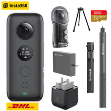 Insta360 One X Экшн-камера VR 360 панорамная камера для iPhone x xs Android 5,7 K видео 18MP невидимая селфи-палка Insta 360