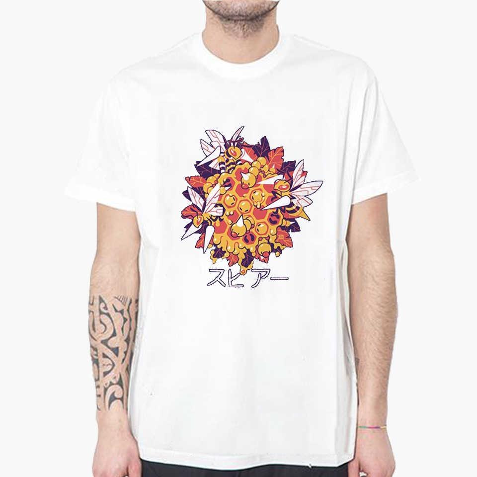2973e432 LettBao Pokemon Boys T-shirts Cartoon Summer Short Sleeve Tshirt Men Funny  Print Casual White