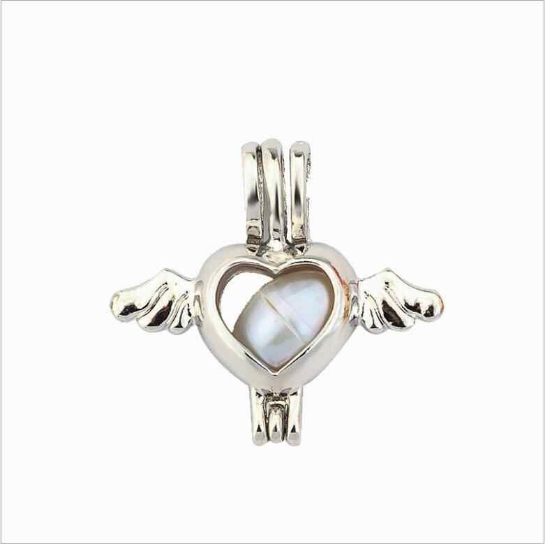 Более 20 стилей жемчужная клетка ювелирных изделий клетка-медальон кулон эфирные масла диффузор медальон для Oyster жемчуг для женщин Девушка