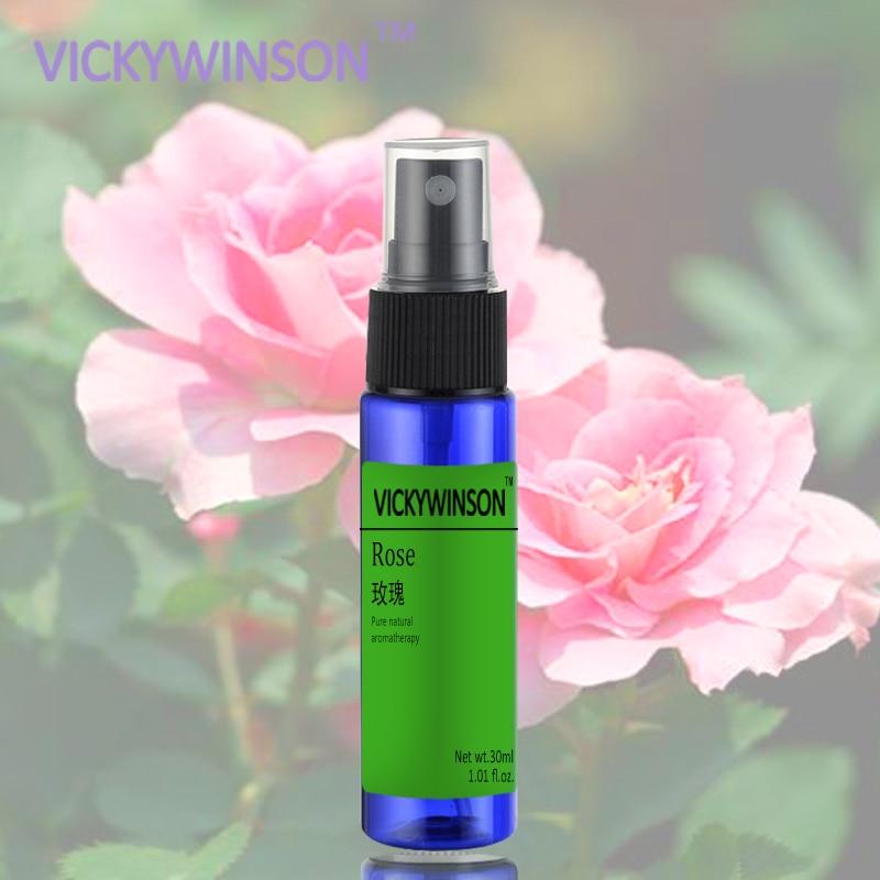 Rose Body Odor Antiperspirant Spray Body Underarm Sweat Odor Clean Deodorants Spray Remove Body Odor 30ml
