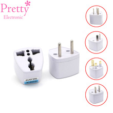 Universal Travel Power Plug Adapter EU EURO AU US to UK Small Adapter Converter Power Plug Adaptor Connector Easy To Carry