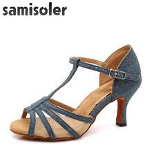 Samisoler/Новинка 2018 года; обувь для латинских танцев; женская