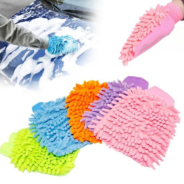 Super Mitt Microfiber Car Wash font b Gloves b font Washing Cleaning Anti Scratch car washer