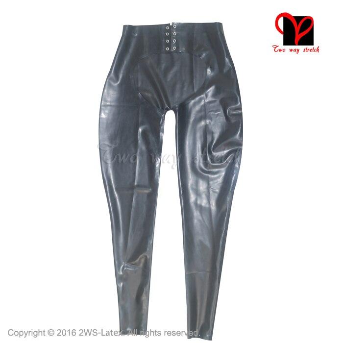PUNK RAVE nouveau gothique diable empreintes de pieds noir femmes Leggings mode évider Punk extensible femme mince Sexy pantalon foncé - 5