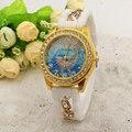 Moda Linda ballena de la Historieta Casual Mujeres Del Reloj de Cuarzo de Silicona Relojes Relogio Del Reloj de Vestir Relojes de Pulsera multicolor