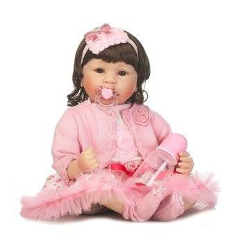 55cm gran oferta Victoria adora realista bebé recién nacido muñecas bebé Bebe chico juguete niña bebé reborn de silicona para regalo de chico dollmai