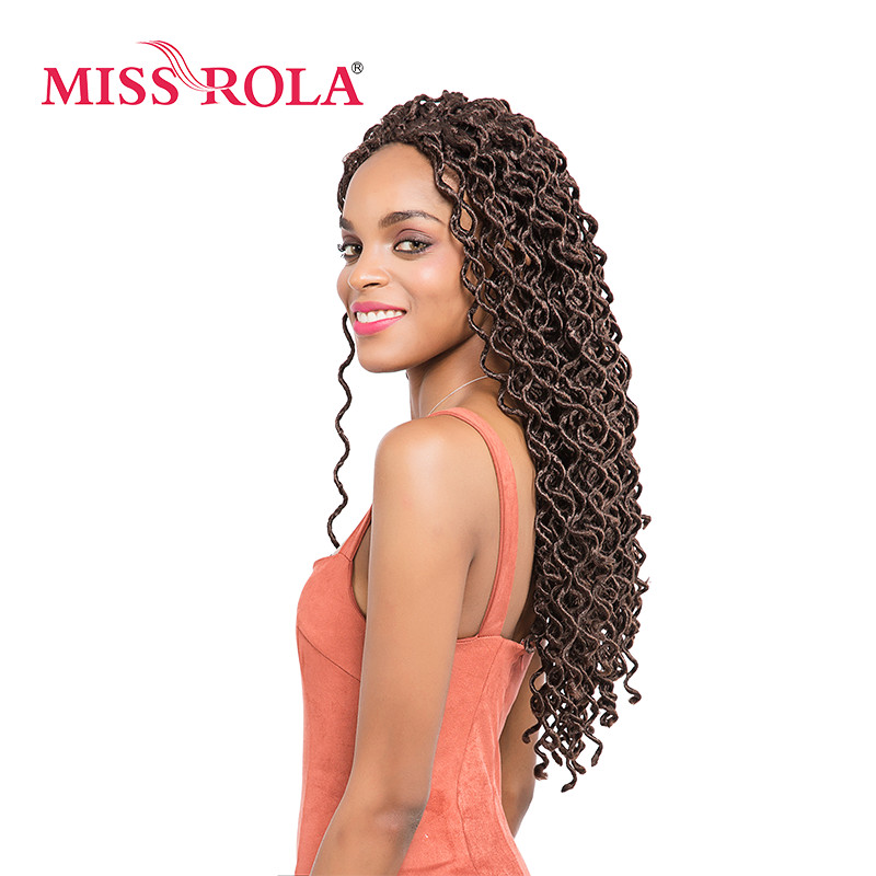 Miss Rola New Bohemian Curl Synthetic Braiding Hair Extensions 185