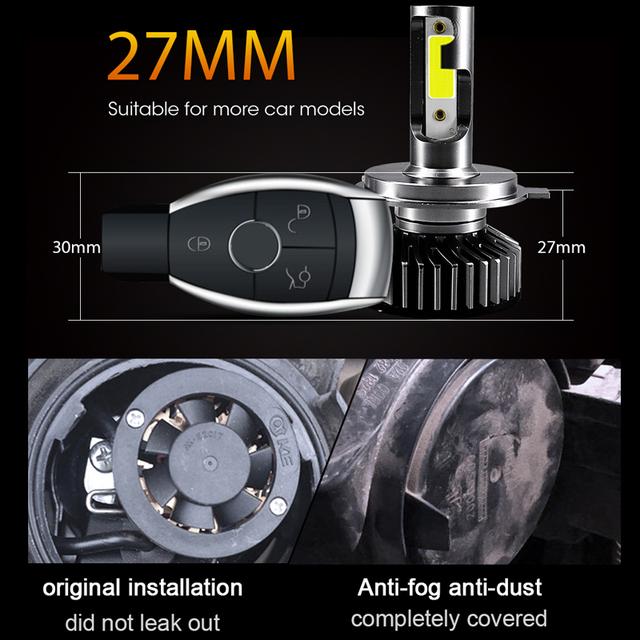 LED Car Headlight light Bulb