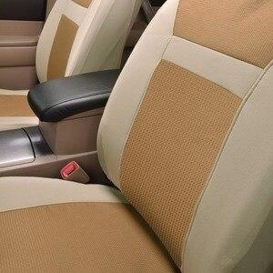 Image 5 - 2020 nowe samochodowe uniwersalne pokrowce na siedzenia samochodowe auto stylizacja Fit Interieur Accessoires Zetel Decoratie beżowe i szare czarne