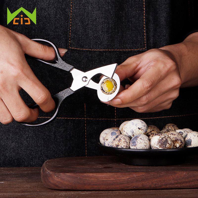 Wcic Quail Egg Shells Scissors Cracker Opener Cigar Cutter