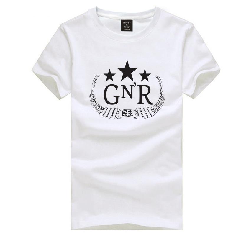 on sale guns n 39 roses with star design t shirt short