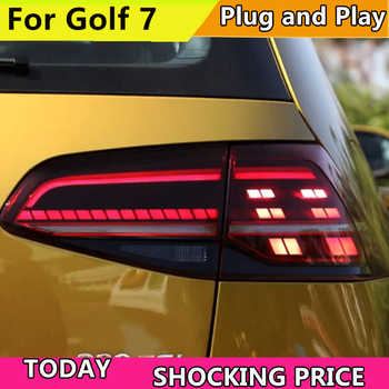 Car Styling Tail Lamp For Volkswagen VW Golf 7 MK7 2013-2016 LED TailLight Rear Light LED Brake+Park+Moving Turn Signal Lamp - DISCOUNT ITEM  20% OFF All Category