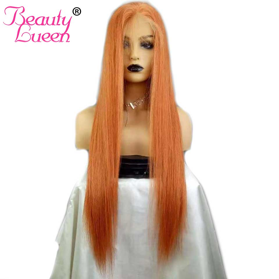 Lace Front Human Hair Wigs Straight Long For Black Women 350 Colored Human Hair Wigs Remy Brazilian Lace Front Wigs Pre Plucked