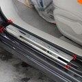 Acessórios Estilo do carro para Nissan Sentra 2012-2014 2015 2016 auto aço inoxidável scuff placa do peitoril da porta protector guarda