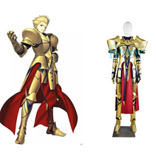 New Anime Fate/EXTELLA LINK/stay night Caster Gilgamesh Cosplay Costume Halloween Adult Costumes for Women/Men Custom Any Size