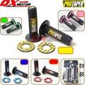 """Moto Pro Taper Aperto Punho Grip MX Fit Dirt Pit Bike Motocross 7/8 """"Handlebar Rubber GEL Apertos de Mão Frete grátis"""