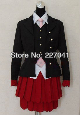 Umineko no Naku Koro ni Beatrice Halloween Cosplay Custom Made Free Shipping A0178