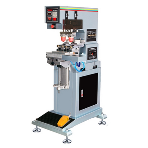 automatic 2 color pad printing machine with ink cup,ink cup tampon print tabletop electric pad printing machine small pad printing machine mini pad printing machine