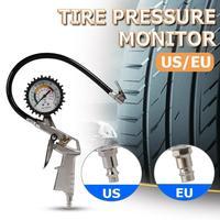 0 220 psi medidor de pressão dos pneus do carro ponteiro pressão de ar do pneu inflator inflar pressão do pneu medição do carro medidor de pressão dos pneus Sistemas de monitoramento de pressão dos pneus     -