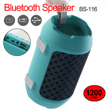 Outdoor Wireless Mini Column Box Speaker Portable Bluetooth Speakers Subwoofer Support TF card FM Stereo Built in MIC цена