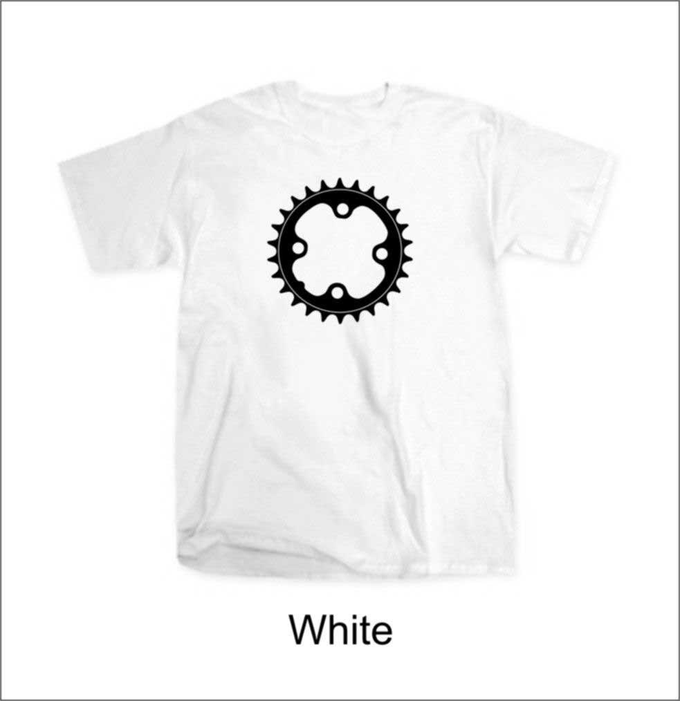 2018 Summer For Men T Shirt Hot Sale Clothes Chainring Chain Ring T-Shirt Retro Mtb Road Bmx Cycle Biker Parts 80S Tee Shirt