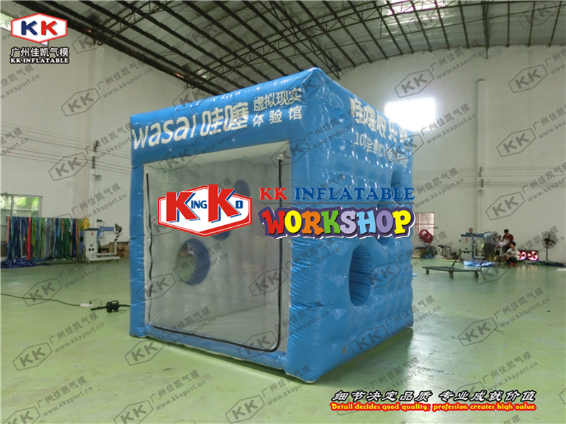 Square Stereo Outdoor Advertising Genuine inflatable advertising tentSquare Stereo Outdoor Advertising Genuine inflatable advertising tent