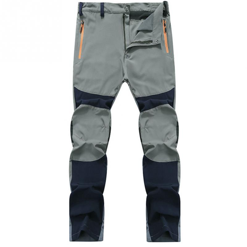 5ac0a8cda8d Men Outdoor Sports Pants Windproof Trousers Breathable Hiking ...